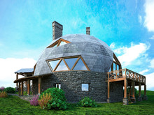 Gorgeous Dome Home Of The Future. Green Design, Innovation, Architecture.