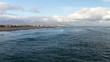 Vue sur La falaise de La Franqui depuis Port Leucate