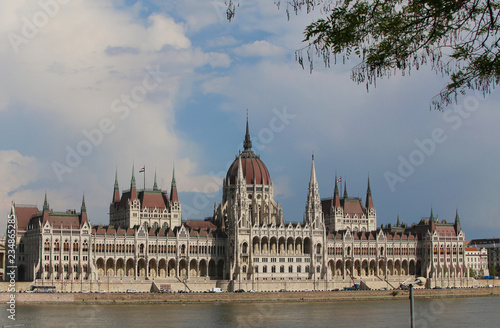Fotobehang Boedapest HUNGARIAN PARLIAMENT - Budapest Day.