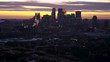 Minneapolis - Aerial at Dusk - Cityscape