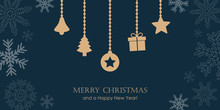 Christmas Greeting Card With S...