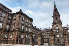 Christiansborg Palace Exterior, Denmark