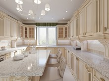 Classical Design Kitchen With ...