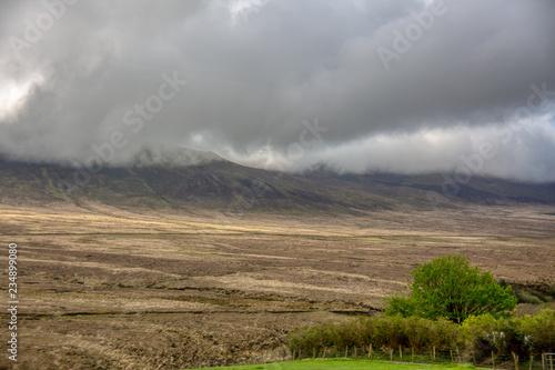 Spoed Foto op Canvas Blauwe hemel Irland