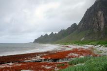 Gewitterwolken Am Nordmeer