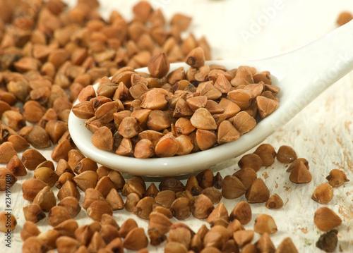 Valokuva  image of buckwheat closeup