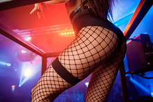 Night Club Party Girl Dancer G...