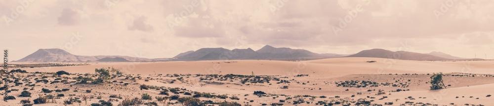 Fototapety, obrazy: Parque Natural de Corralejo, Fuerteventura, Spanien
