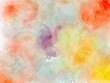 Melange watercolor abstract background