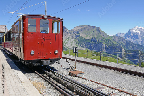 Cuadros en Lienzo schynige platte, berner alpen, schweiz