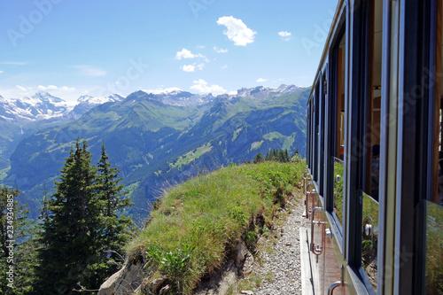 Pinturas sobre lienzo  schynige platte, berner alpen, schweiz