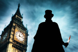 Fototapeta Big Ben - Jack the Ripper in action at London