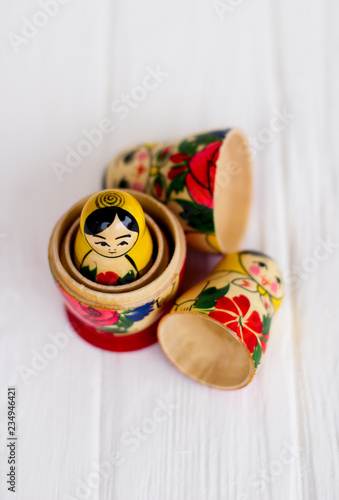 Fototapeta Russian national nesting dolls