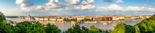 Hungary, Budapest, View Over Pest From Buda, Panorama