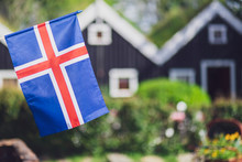 Iceland, Iceland National Flag...