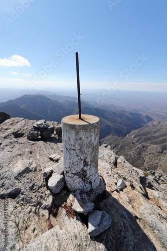 Fotografie, Obraz  Cockscomb mountain peak in the Eastern Cape, South Africa