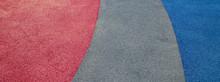 Rubber Floor Texture. Granules...