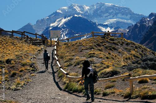 Tuinposter Centraal-Amerika Landen Aconcagua