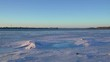 ice on the frozen river, blue ice on the lake, The Ice On The River,