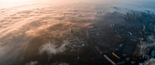Aerial View Of The City In Den...