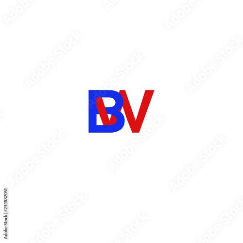 Fotografie, Obraz  Letter  BW Blue and Red