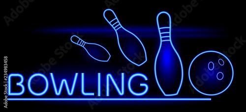 Fotografia, Obraz Bowling