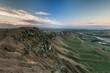 Te Mata Peak, hill landscape at evening mood, at Hastings, Hawke's Bay, North Island, New Zealand, Oceania
