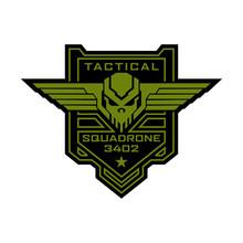 Tactical Military Skull Squadr...