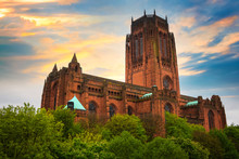 Liverpool Cathedral In Liverpo...