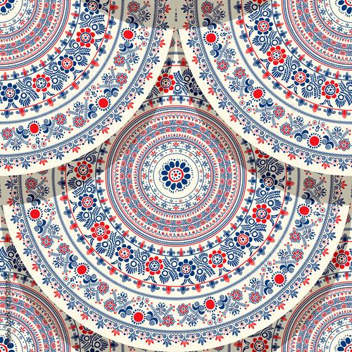 Fotografia  Hungarian motif tile