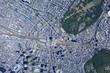 新宿駅上空/真俯瞰空撮