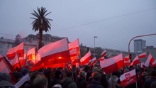 Polish Citizens Marching The S...