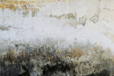 Old Damaged White Plaster Wall Texture - 235058490