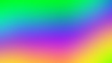 Fototapeta Tęcza - Abstract blurred gradient background in bright colors. Colorful smooth illustration