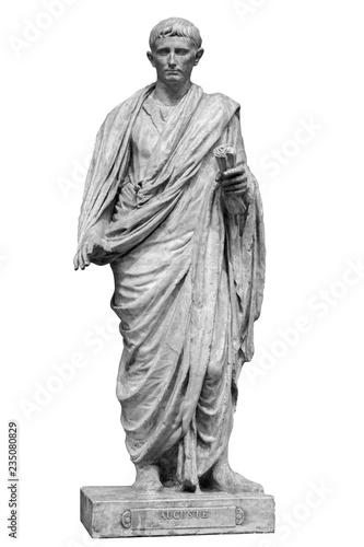 Caesar Octavianus Augustus roman emperor adopted son of Julius Caesar Fototapete