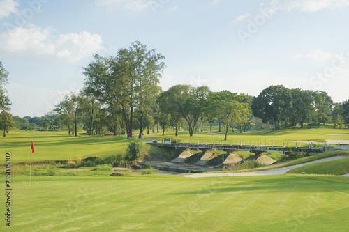 Poster Golf Golfplatz Philipinen