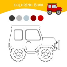 Coloring Book For Children. Ca...