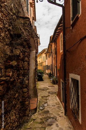 Porto Ercole, Italy - street in the city