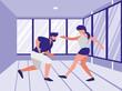 avatar couple dancing design