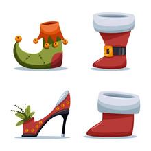 Christmas Shoes Santa Claus An...