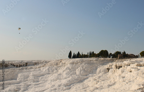 Fotografie, Tablou  Pamukkale natural touristic site in Turkey