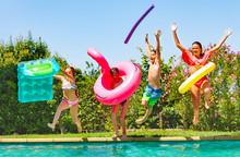 Joyful Kids Having Fun During ...