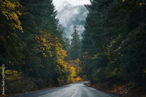 Fototapeta Oregon Roads & Autumn obraz