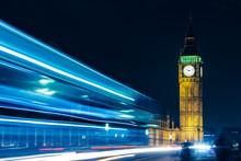 London Big Ben At Night Light ...