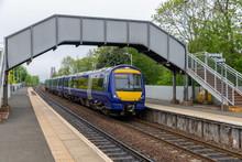 Dalmeny Railway Station Near Bridge Over Firth Of Forth, Scotland
