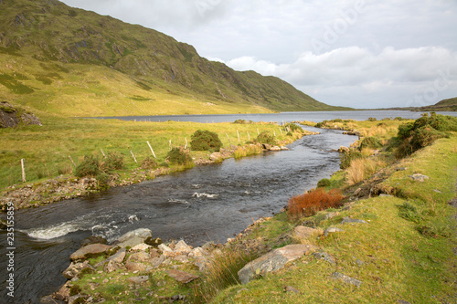 Spoed Foto op Canvas Grijze traf. Fee Lough Lake; Connemara National Park