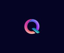 Colorfull Letter Q Logo Template Element