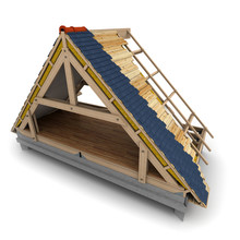 Roof Wooden Framework