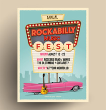 Rockabilly Music Festival Or P...
