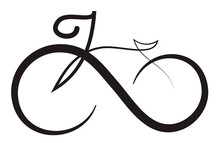 Infinity Bike Icon Logo Design...